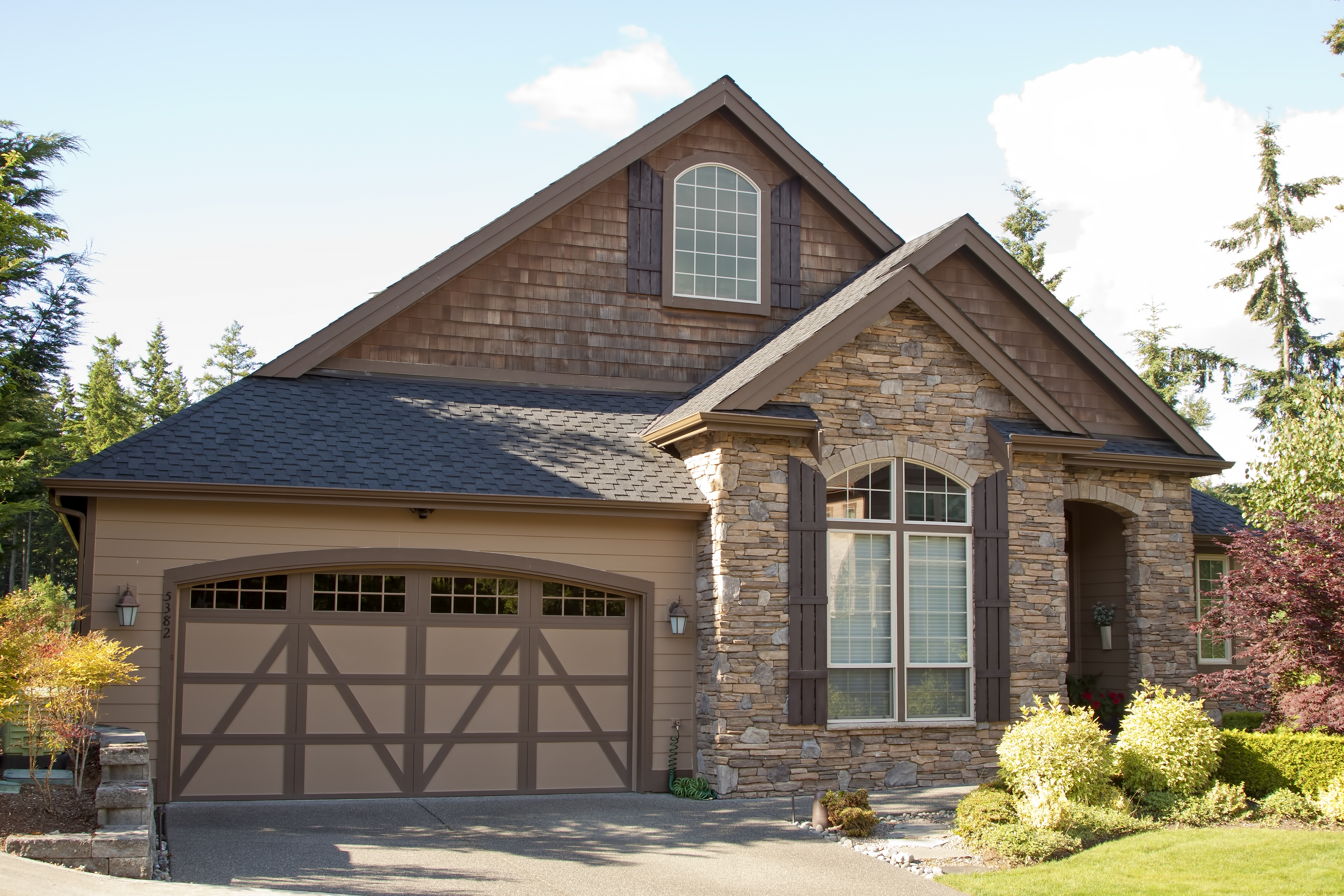 ... A Steel Garage Door In Your Desired Style, From Flush Panels To Elegant  Windows To Doors That Look Like Wood. Call Us Today To Inquire About  Getting A ...