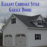 Elegant Carriage Style Doors