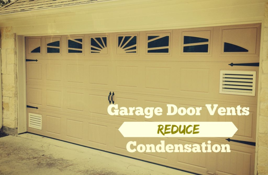 neighborhood garage doorHow to Install Vents On A Garage Door  Neighborhood Garage Door