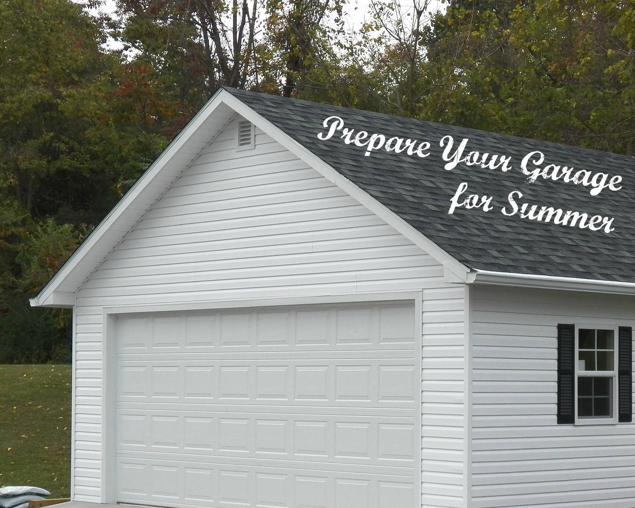 Garage Preparation For Summer