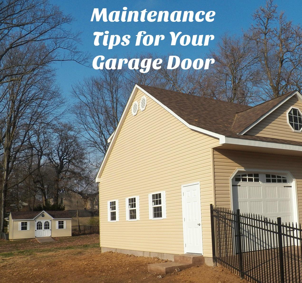 Garage Door Maintenance Tips ⋆ Neighborhood Garage Door Repair