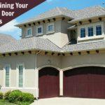 Maintaining Garage Door Springs