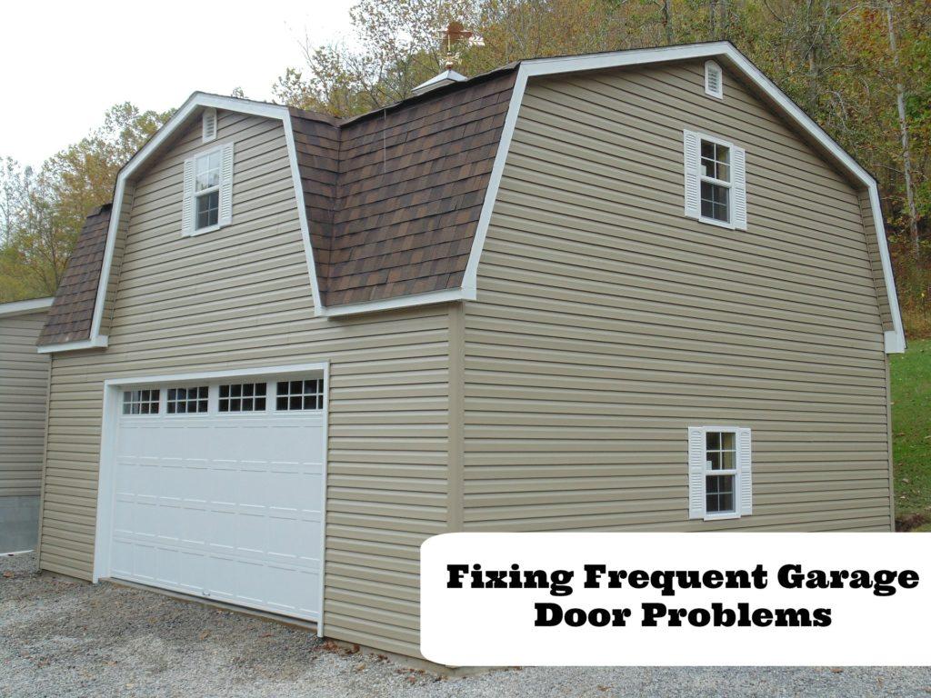 Troubleshoot common garage door problems for Garage door troubleshoot