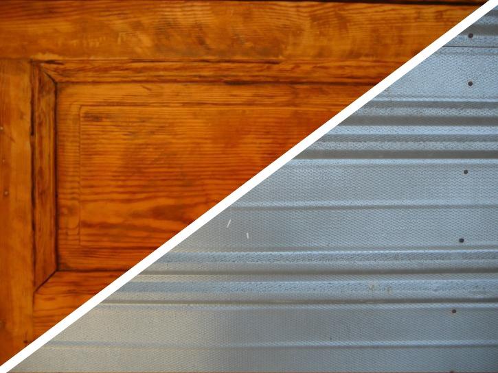 choose a garage door material & How to choose a garage door for your home