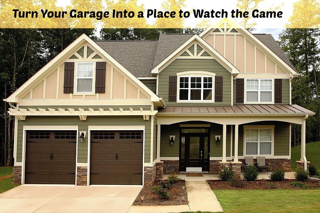 Convert Your Garage Into A Sports Hangout