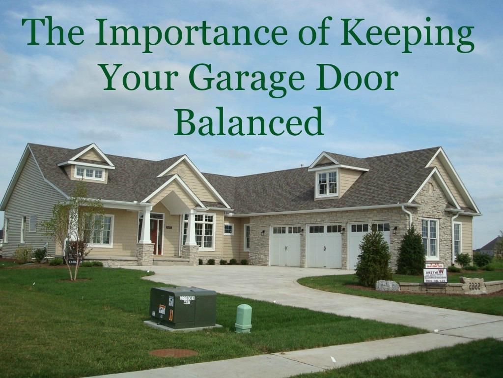 Keep Your Garage Door Balanced ⋆ Neighborhood Garage Door
