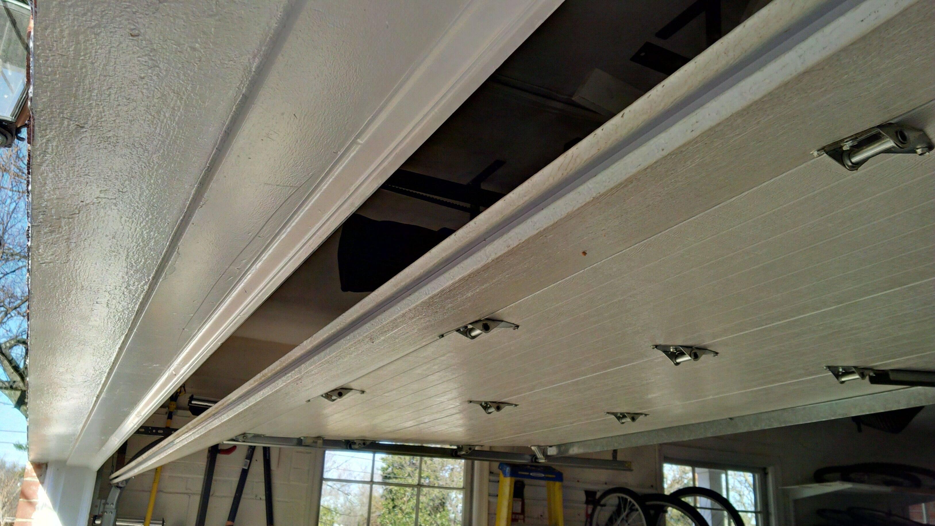 2017 05 garage door bottom seal types - Installation Of The New Seal