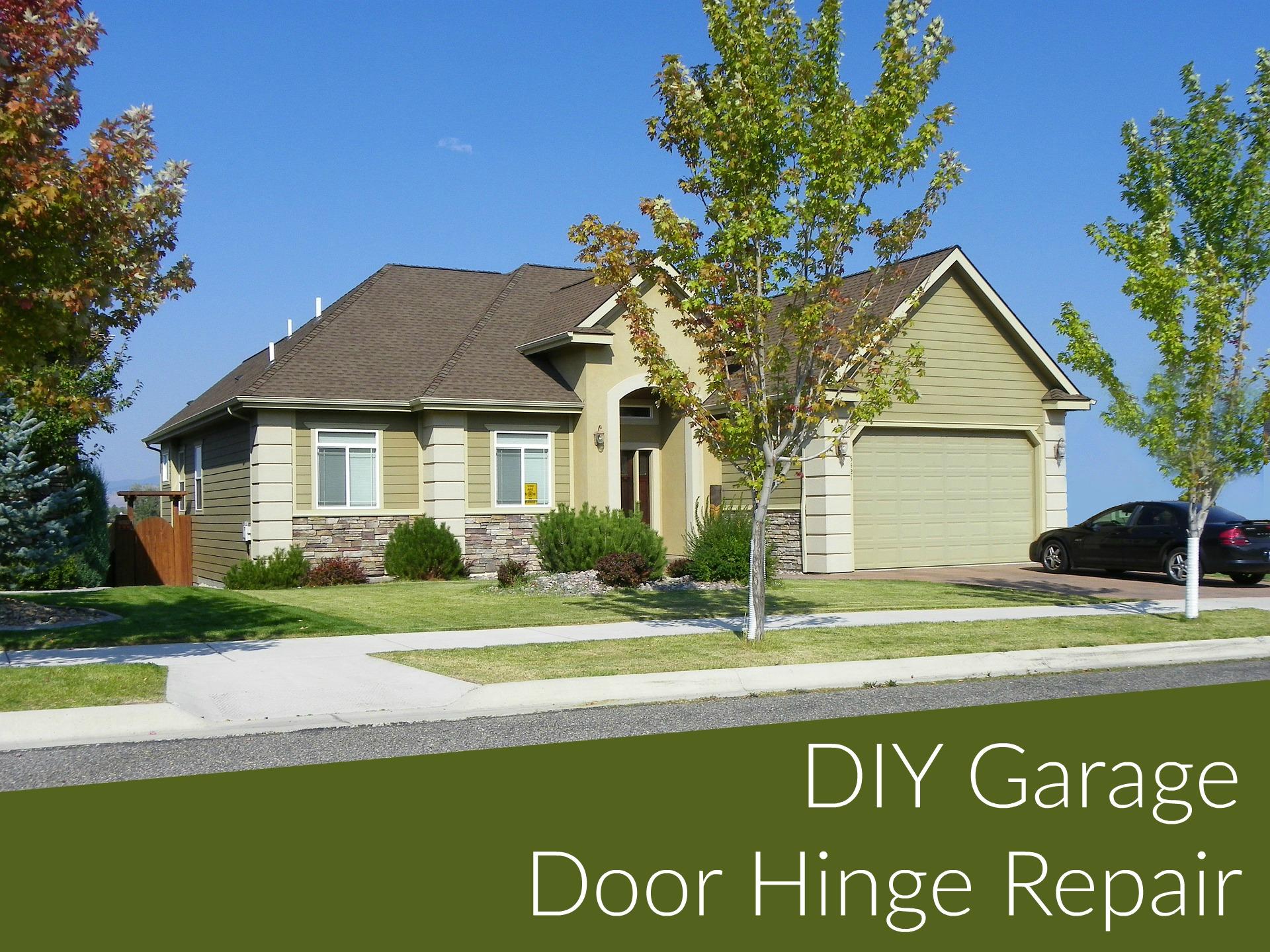 How To Fix A Garage Door Hinge Garage Door Service