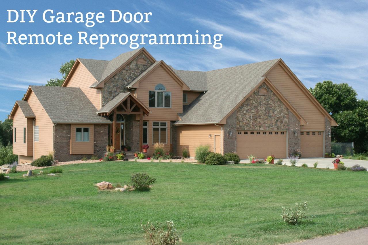 How To Reprogram Your Garage Door Remote Garage Door Service