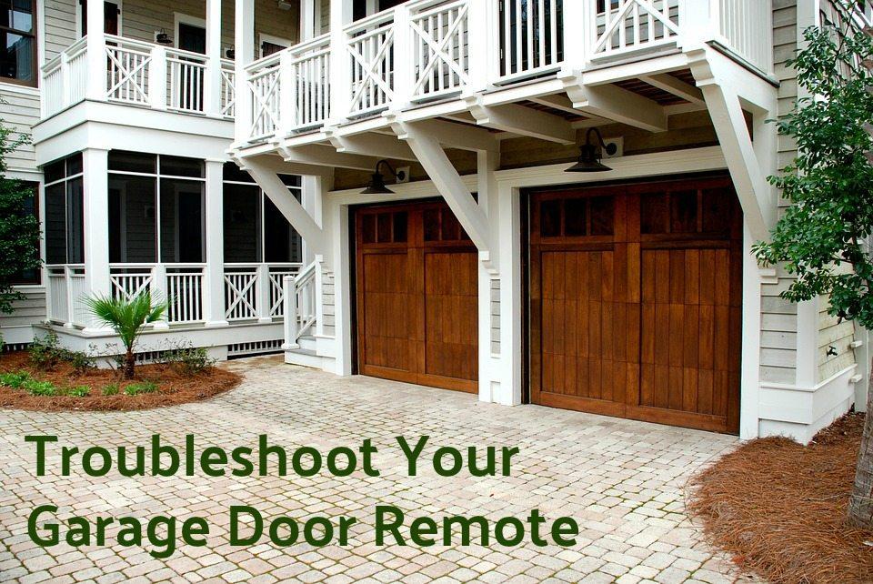 troubleshoot your garage door remote