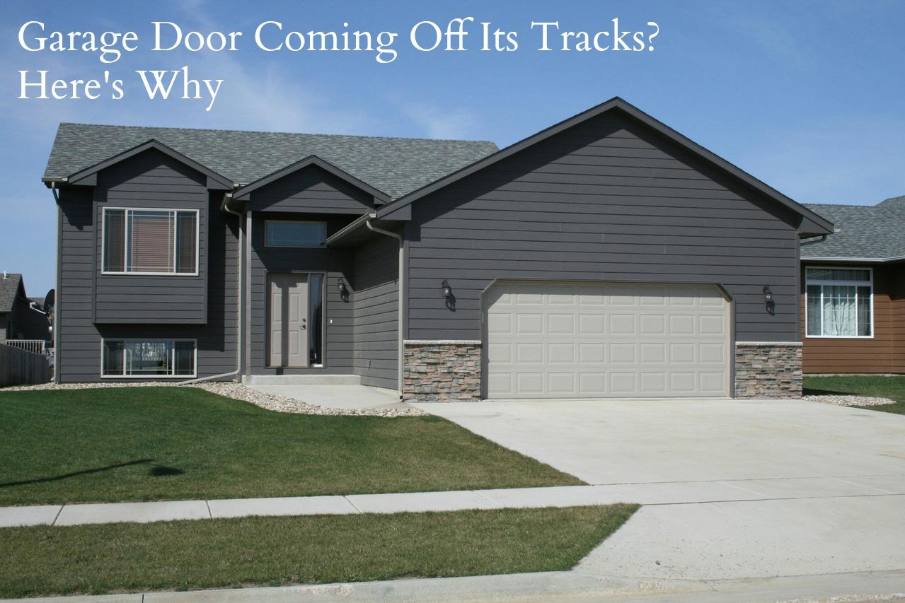 Why Your Garage Door Is Coming Off Its Tracks - Neighborhood ...