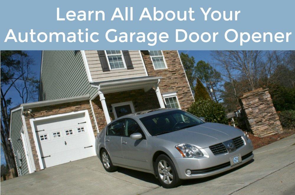 Garage door opener basics neighborhood garage door for Garage basics