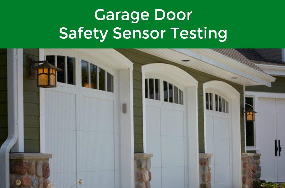 How to test garage door sensors neighborhood garage door for Fix garage door sensor