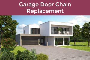 How To Replace A Broken Garage Door Chain