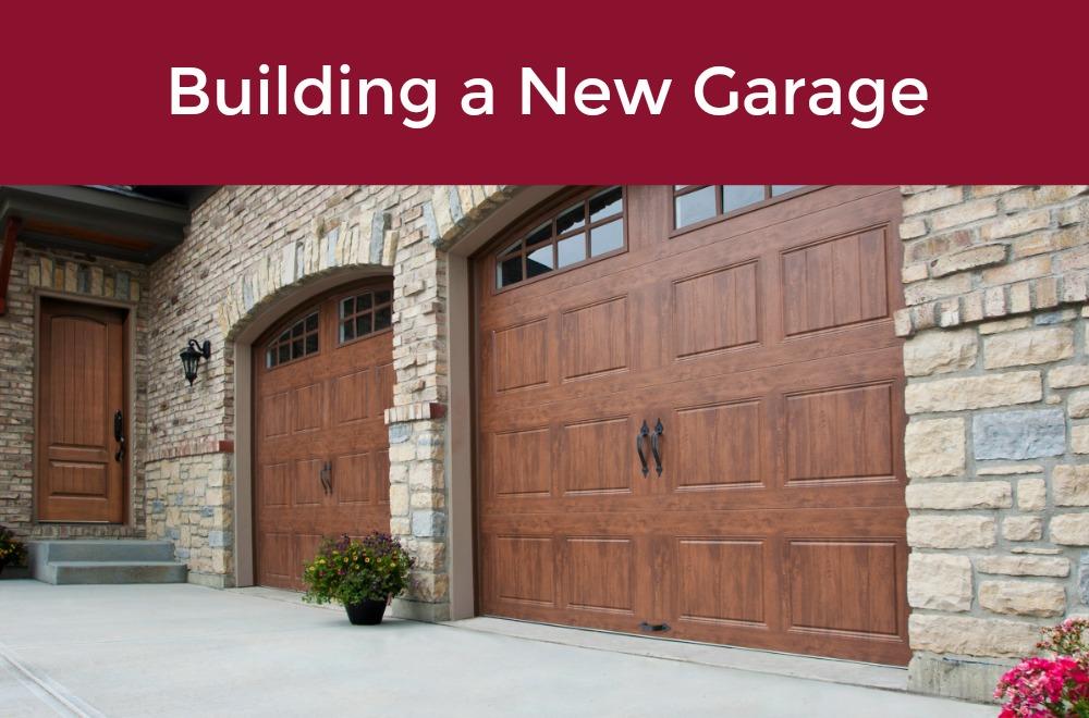 New garage door archives garage door service costs associated with building a new garage solutioingenieria Images