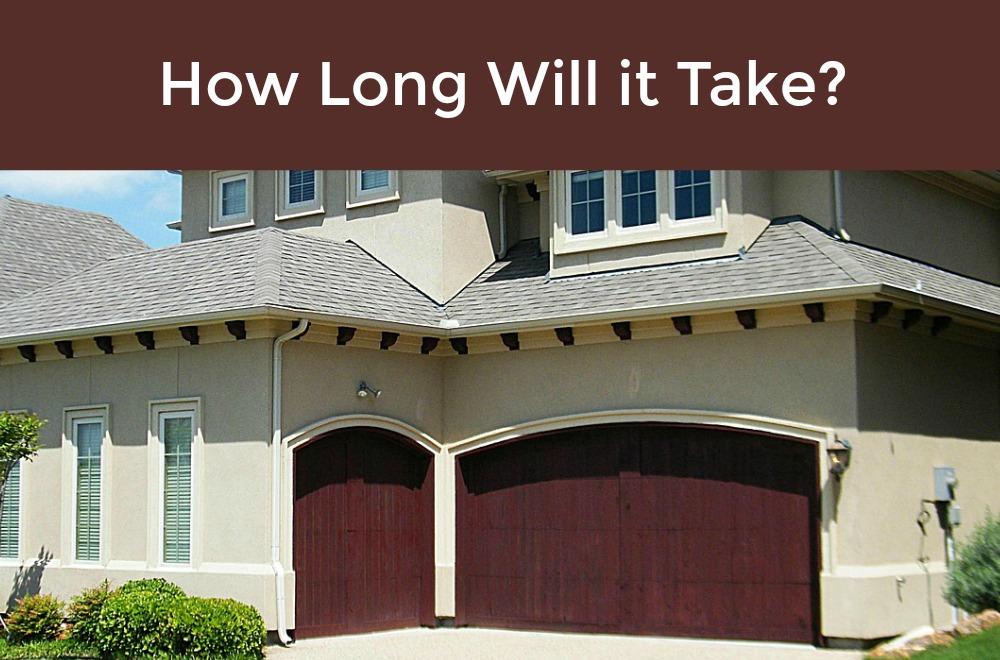 How Long Will It Take To Put In A Garage Door Opener