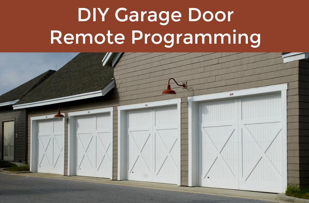 How To Program Your Garage Door Opener Remote Garage Door Service